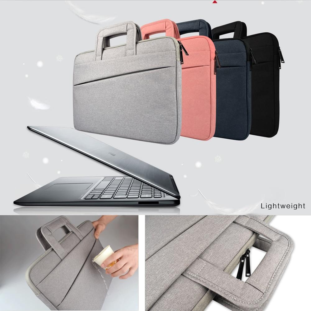 Laptop Bag Case For Macbook Air Pro Men Women 11 12 13 14 15 15.6 Notebook Sleeve Handbag For Xiaomi Acer Dell HP Asus Lenovo