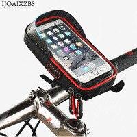 2 In 1 6 0 Inch Bike Bicycle Phone Holder Watllet Waterproof Bag Anti Vibration Mount