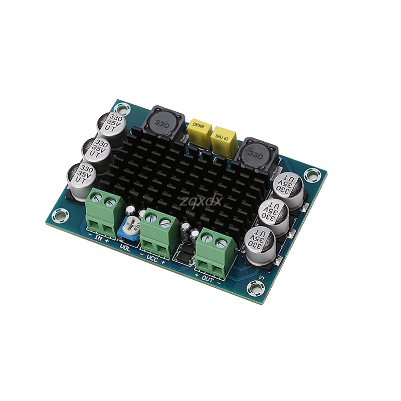 DC 12V-24V TPA3116 D2 100W Mono Channel Digital Audio Power Amplifier Board car Z09 Drop ship