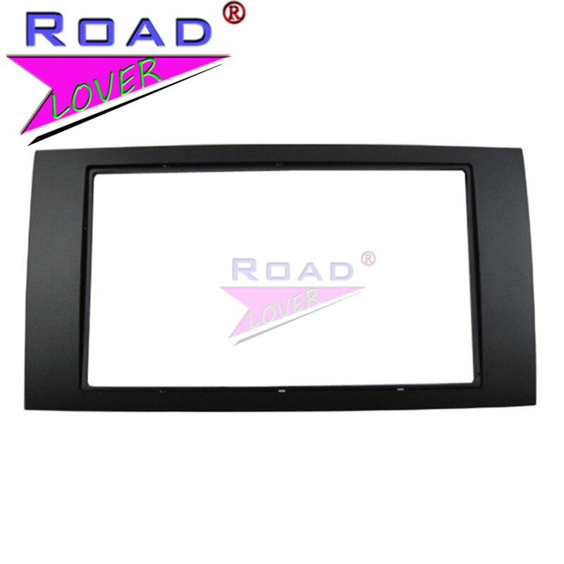 TOPNAVI panneau de cadre de voiture pour Ford Focus/Transit 2006 adaptateur panneau de garniture de CD Interface stéréo tableau de bord Radio Fascia dans le Kit de montage de tableau de bord