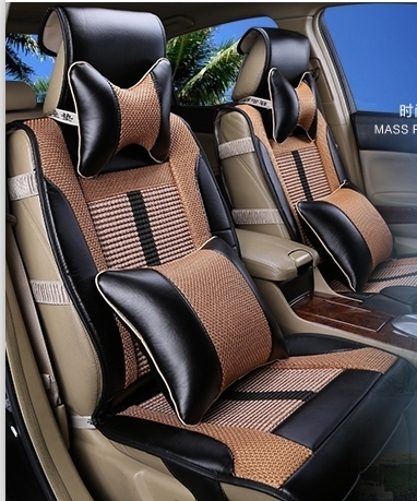Special Seat Covers For Toyota Highlander 5seats 2015 2009 Durable Leather