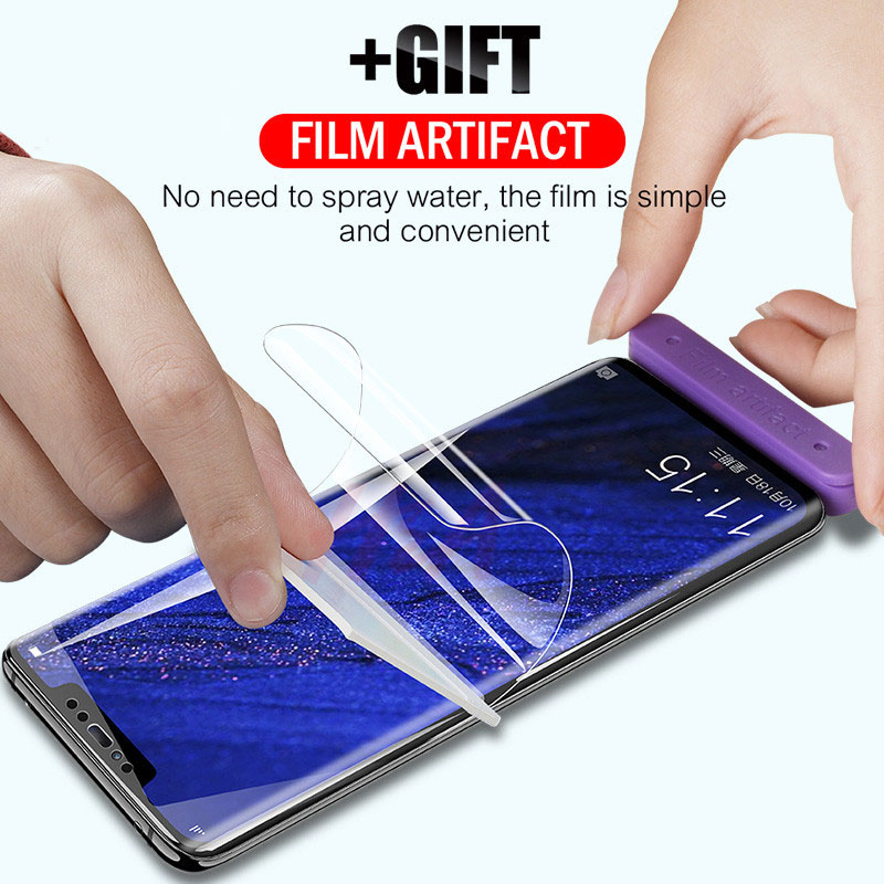 9D Full Screen Hydrogel Film For Huawei P30 P20 Pro Mate 20 Pro Lite Screen Protector Film For Honor 8X 10 Lite 9 V20 Protective