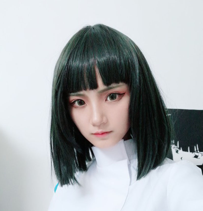 Spirited Away Haku Nigihayami Kohakunushi Green Algae Color Heat Resistent Synthetic Hair Cosplay Wigs Wig Cap Anime Costumes Aliexpress