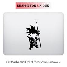 цена на Song Goku Dragon Ball Z Laptop Decal Sticker for Apple Macbook Pro Air Retina Touch Bar 11 12 13 15 inch Vinyl Mac Notebook Skin