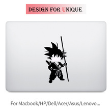 Song Goku Dragon Ball Z Laptop Decal Sticker for Apple Macbook Pro Air Retina Touch Bar 11 12 13 15 inch Vinyl Mac Notebook Skin