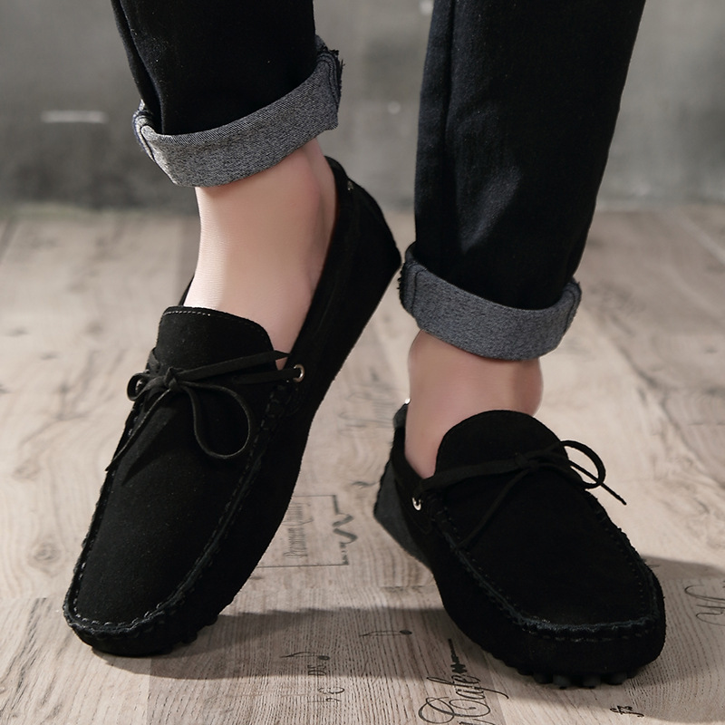 2019 New Men Casual Shoes Fashion Summer Men Loafers Moccasin Shoes Men Flats Plus Size Slip On Boat Shoes Men Vulcanize Shoes