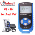 Vgate VS450 VAG 450 Escaner Automotriz Scaner For VW Volkswagen Audi OBDII OBD Code Reader Diagnostic Tool PK VAS5054 ODIS UDS