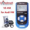 Vgate VS450 VAG 450 Escaner Automotriz Scaner Para VW Volkswagen Audi OBD OBDII Leitor de Código de Ferramenta de Diagnóstico VAS5054 ODIS PK UDS