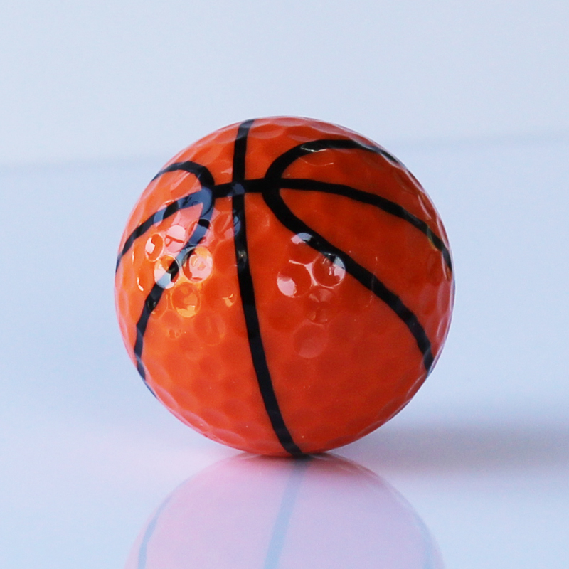 Golf Practice Balls Basketball Golf Ball two layers Golf Balls Golf Gift Ball 6pcs/lot Free Shipping