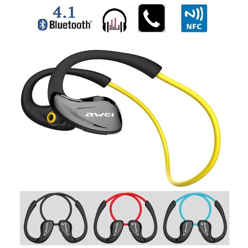 ФОТО Free shipping New Wireless Bluetooth Headset Sport Stereo Headphone Earphone with Mic Support NFC CSR 4.1 CVC6.0 4  A880BL