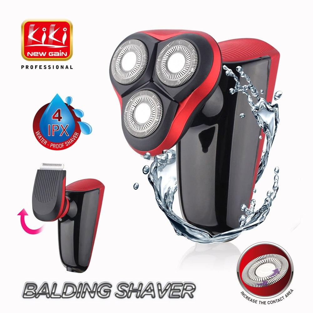 Électrique Rasoir pour hommes 5D Tête Polonais Tondeuse USB Rechargeable Rasoir 5 Rasoirs à lame Lavable 3D Flottant Rasage Machine
