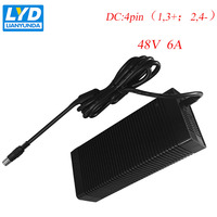 48 V/6A светодиодный адаптер питания для электрического оборудования коммутационный адаптер Черный переключатель для светодиодной ленты ИТ