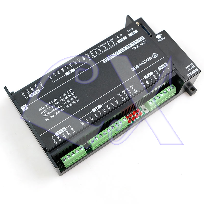Image 4 - 8AI Analog Input 4AO Analog Output 8DI Switch Input 8DO Relay Ethernet IO Module RS485 RS232 MODBUS TCP&RTU-in Connectors from Lights & Lighting
