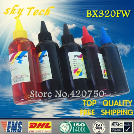 Dye refill ink Suit for Epson T1291, T1291 - T1304 cartridges ,suit for Epson Stylus Office BX320FW . specialized ink dye refill ink suit for epson t5846 cartridges suit for epson pm280 pm200 pm240 pm290 pm225 specialized ink