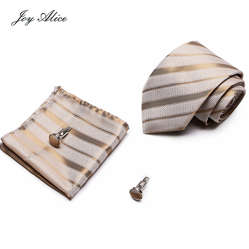 New Arrival 40 Styles Brand Men`s 100% Silk Ties Jacquard Woven Gravata Necktie Hanky Cufflink Sets For Wedding Party Business