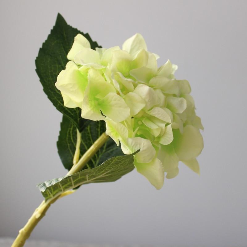 3PCS lepo hortenzija umetno cvetje svilene rože domače dekoracije - Prazniki in zabave - Fotografija 5