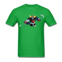 UFO Robot Grendizer T Shirt Robot Men S Summer Crew Neck Team Tees Adult Oversize Tshirts