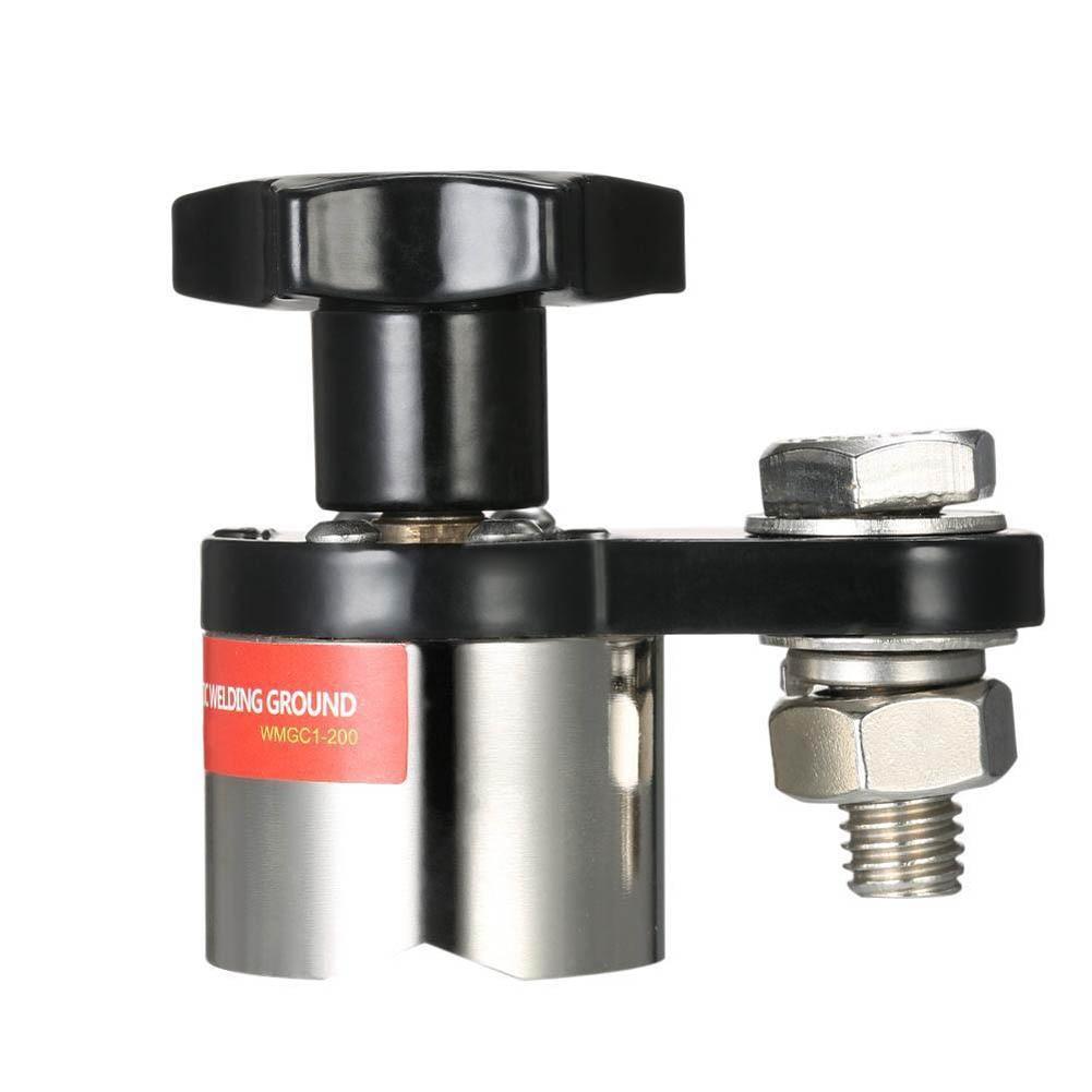 Neue 64x36x60mm 200A Stärkere Magnetische Schweißen Erdungsklemme Small Size Verbinden Switch -- M25