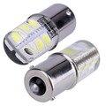 2PCS 1156 COB Led Car Light P21W BA15S 1156 5050 Smd 6 Led Brake Turn Signal Light Bulb Crystal Lamps Led 12V Car Accessories