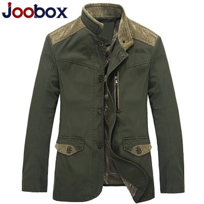 Col Manteaux 1 Joobox Patch Turn down 2 Marque Coton Veste Mince Cargaison Printemps Décontracté Hommes Homme Automne Designs Denim Vestes nwPNZ0kOX8