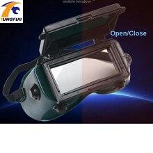 2fcfdb0e7a603 Tungfull argônio óculos de soldador Elétrico automático de luz solar  mudando Lente de soldagem Capacete De