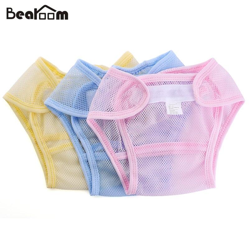 ?етские ѕодгузники многоразовые подгузники ткань пеленки стирать сетчатый карман подгузник новорожденных летние дышащие ѕодгузники младенческой хлопкова¤ подкладка