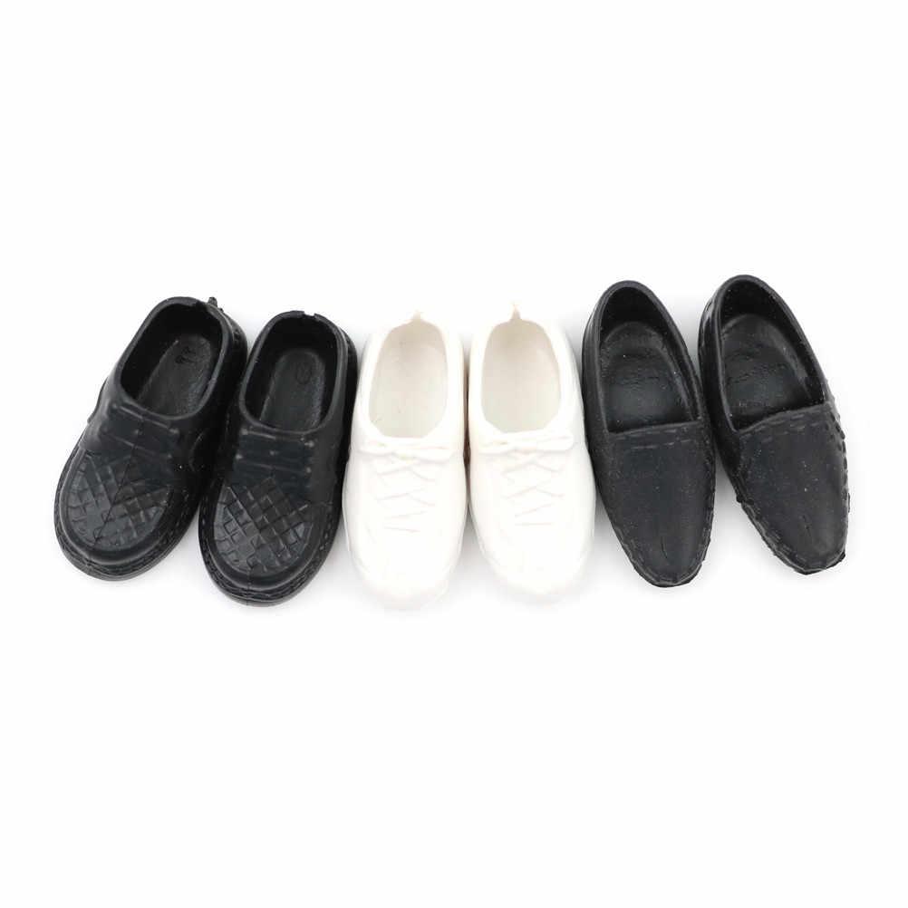 3 Paren/set Fashion Doll Schoenen Hakken Sandalen Voor Ken Poppen Accessoires Baby Speelgoed