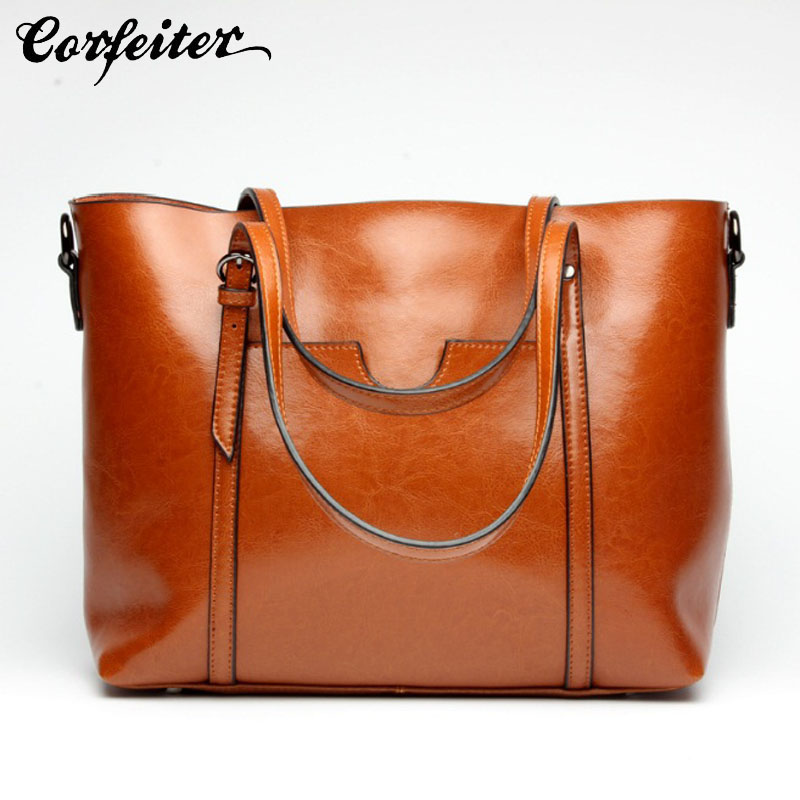 simple fashion women handbag genuine leather shopping bag larger crossbody bags female casual shoulder bag tote luxy moon women bag genuine leather composite bag women s handbag fashion casual cowhide larger tote female shoulder bag zd705