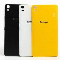 De haute Qualité Pour Lenovo K3 Note K50-T5 Batterie Couverture Arrière Téléphone Cas 5.5 Pouce MTK6752 Octa base téléphone Intelligent