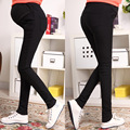 MamaLove Warm in winter Maternity Clothes Skinny Maternity Pants pregnancy trousers For Pregnant Women Pant High Waist