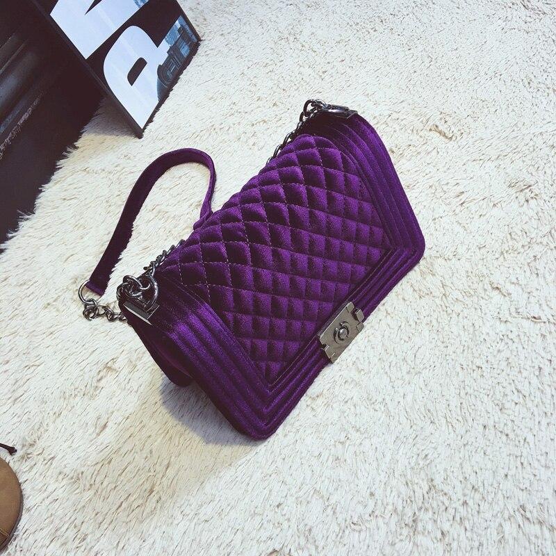 Taliyah Crossbody bag Fashion Women Bag Luxury Handbags Women Purses Designer Brand Ladies Chain Velvet Shoulder