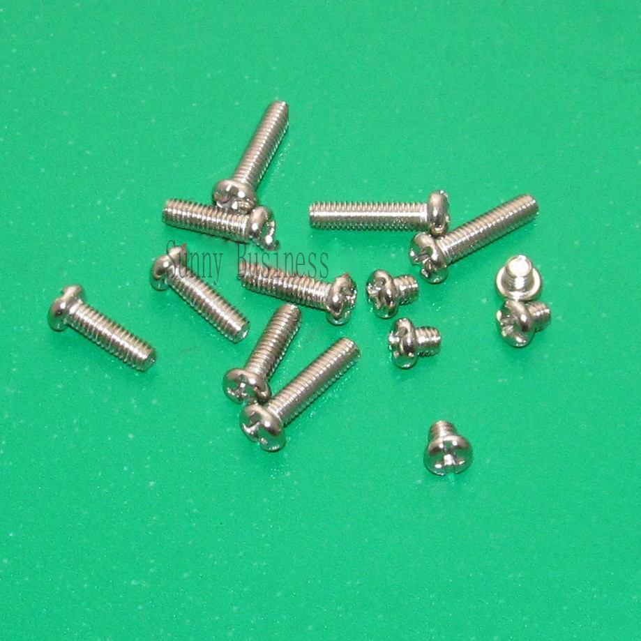 50Pcs M3 Stainless Steel Phillips Screws Cross Round Head M3 Screw Bolts Nuts Fasteners Hardware Tools M3 niko 50pcs chrome single coil pickup screws