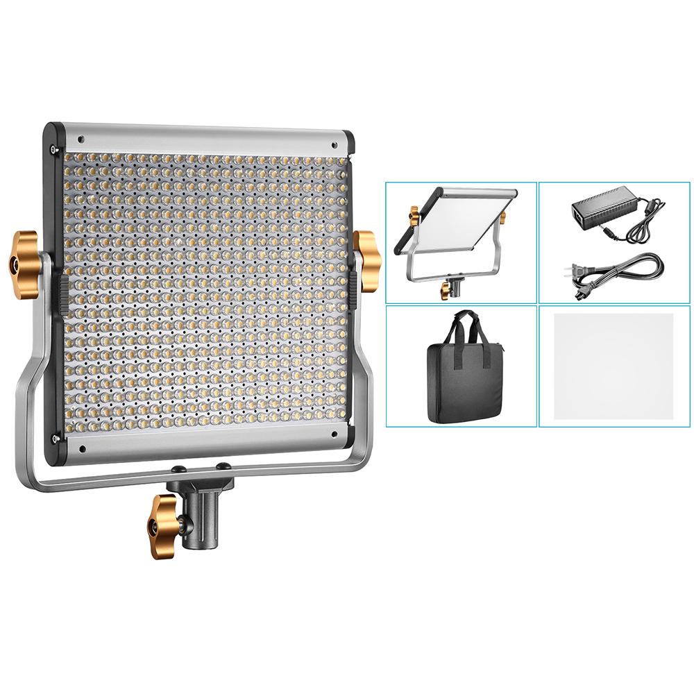 Neewer Dimmable Bi-color LED Professional Video Light for Studio/YouTube Outdoor Video Photography Lighting US Plug 110V-130V casio watch ladies watch fashion casual simple waterproof quartz ladies watch ltp v007l 7e2 ltp v007d 7e ltp v007d 2e