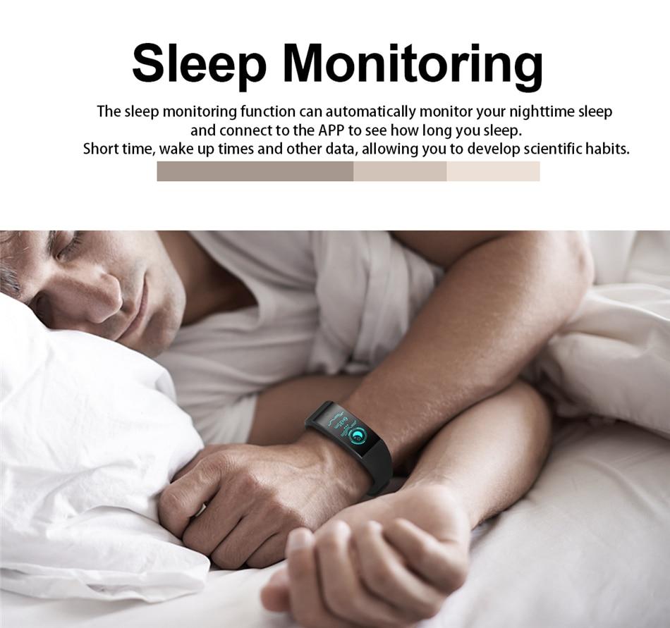 BANGWEI 2018 New Men Smar watch Blood pressure heart rate monitor basketball Fitness Tracker Smart Sport Watch Reloj inteligente 15