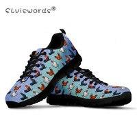 ELVISWORDS Farm Chicken Women Mesh Flats Black Shoes Plat form Woman Teenager Girl Casual Sneakers Female Fashion Non Slip shoe