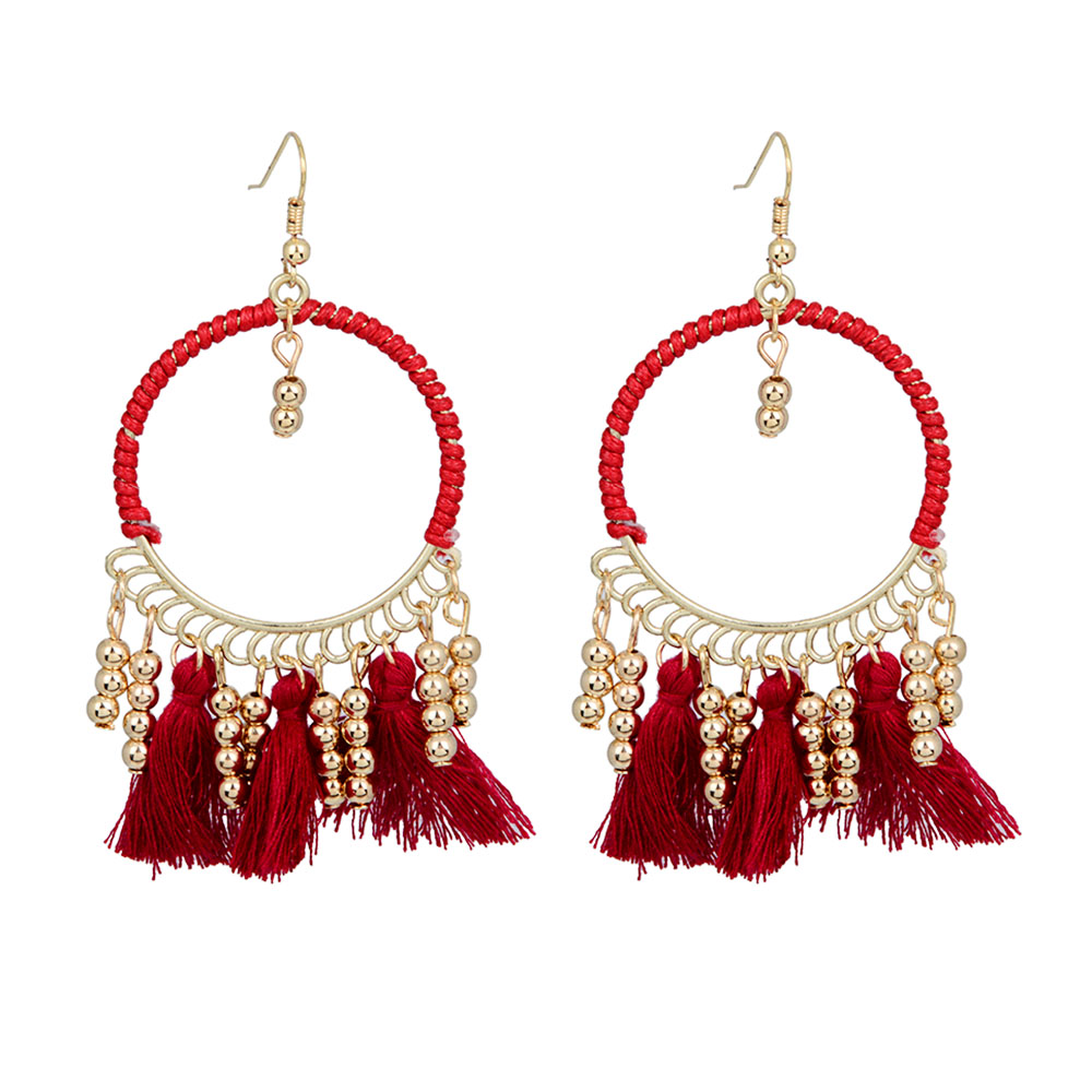 with earrings products j studs gold sparkle red earring fiesta spencer glitter