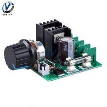 Regulador de velocidad del Motor 12 V-40 V 32 V 10A Auto PWM DC regulador del voltaje del regulador 400 módulo de placa W con interruptor de perilla
