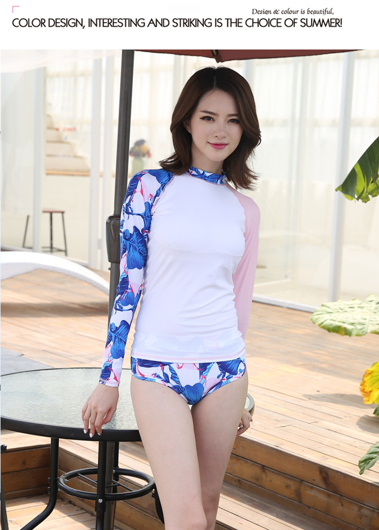 274b34f64c1 SBART Women Long Sleeve RashGuard Top Lycra Anti-UV Windsurf Swim Shirts  Sunscreen Rashguard Female Quick Dry Surfing YogaShirt