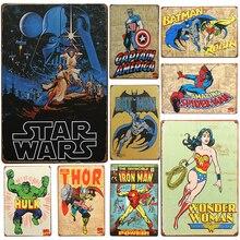 Star Wars Metal Decorative Plates