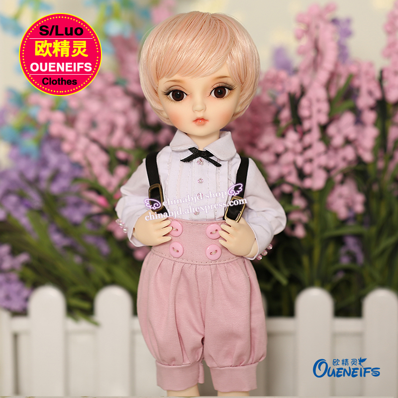 OUENEIFS  girl boy white shirt High-waisted flared trousers 1/6  bjd sd doll clothes, have not doll or wig  YF6-108 oueneifs bjd clothe sd doll 1 4 clothes girl boy baby long hooded jumpsuit hyoma chuzzl send socks luts volks iplehouse switch