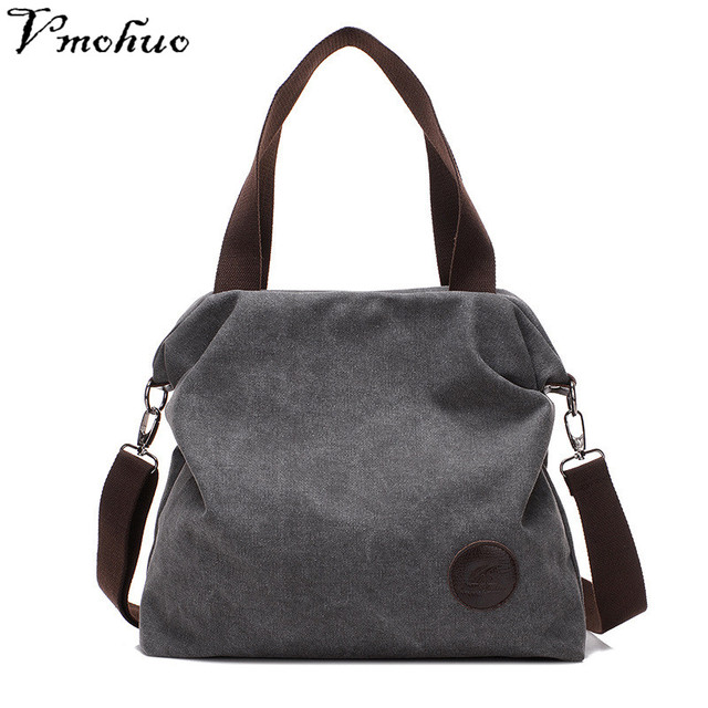 VMOHUO Shoulder Bag Female Women Canvas Handbag Female Shoulder Tote Bags Large Capacity Shopping Bag Handbag Daily Use Bags