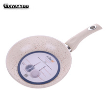 GXYAYYBB Professional Burning Cooking Pan 20cm Health Griddles & Grill Pans Aluminum Alloy Non-stick Gas Cooker cooking Oven