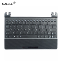 GZEELE New Laptop Keyboard With C Shell For ASUS Eee PC X101H X101CH X101 English US