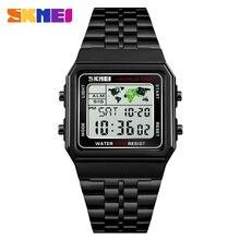 SKMEI Элитный бренд мужские часы цифровые электронные спортивные часы Таймер Секундомер Водонепроницаемый Для часы мужские наручные часы женские