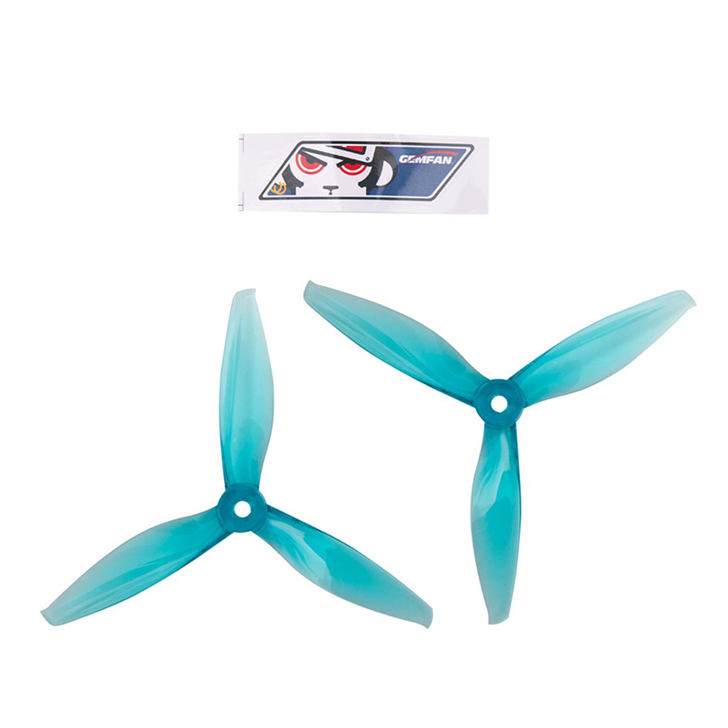 GEMFAN 4032 4 inch 4x3.2 3-blade CW CCW Propeller PC Prop Compatible 1406 <font><b>2205</b></font> <font><b>Brushless</b></font> <font><b>Motor</b></font> for DIY RC Drone FPV Racing image