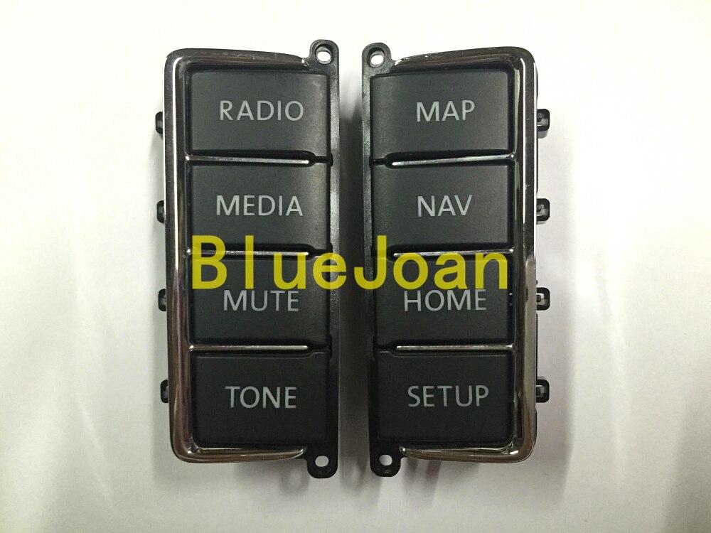 Freies Verschiffen Ursprüngliche Volkswagen Cd-player-panel Kunststoff-taste Für Volkswagen Vw Rns510 Sat Nav Audio Systeme Verkaufsrabatt 50-70% Radio