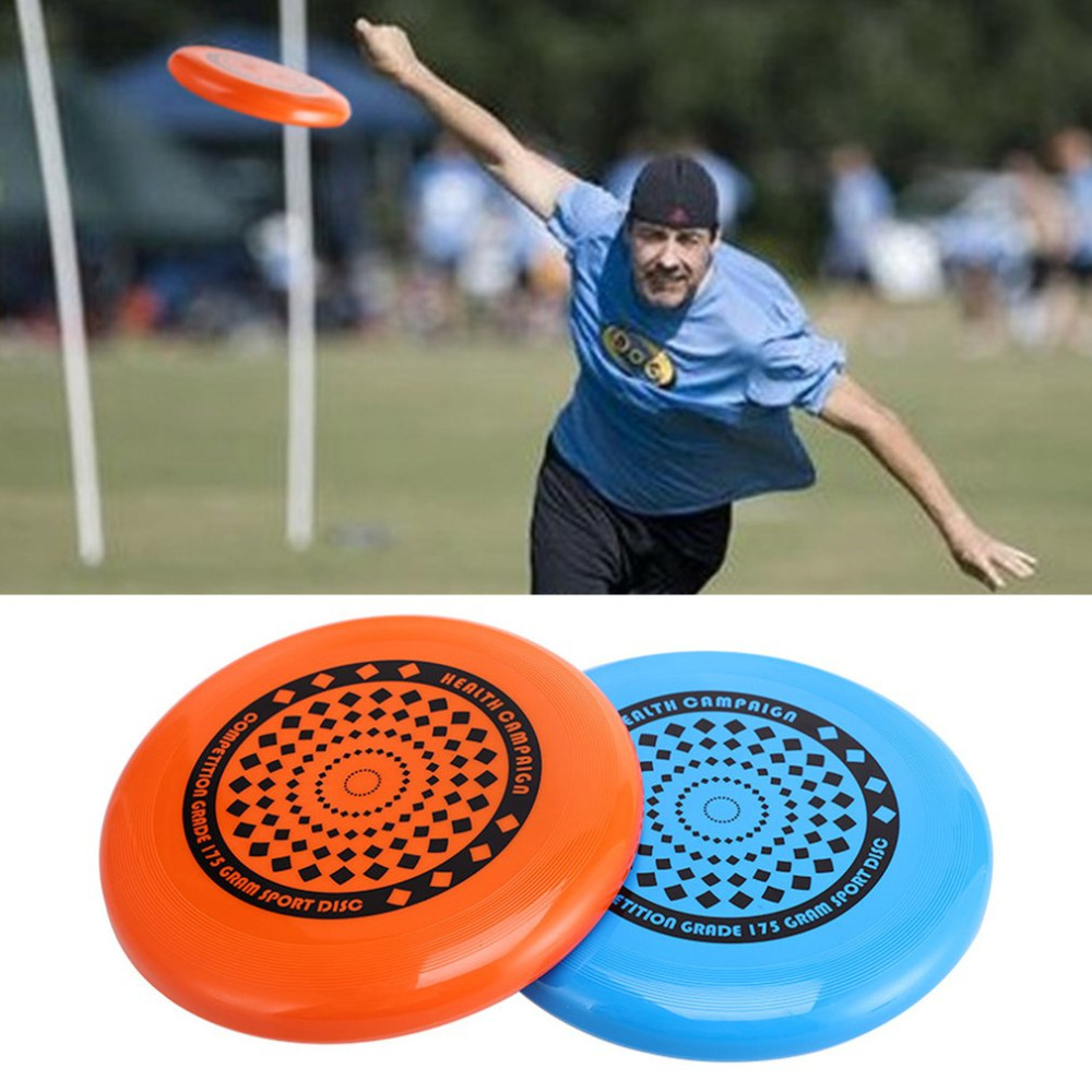 1 pc 27cm Ultimate Flying Disc Saucer Outdoor Sport Leisure Toys Portable Play Game Disc Competition Toys for Kids Adult Gift