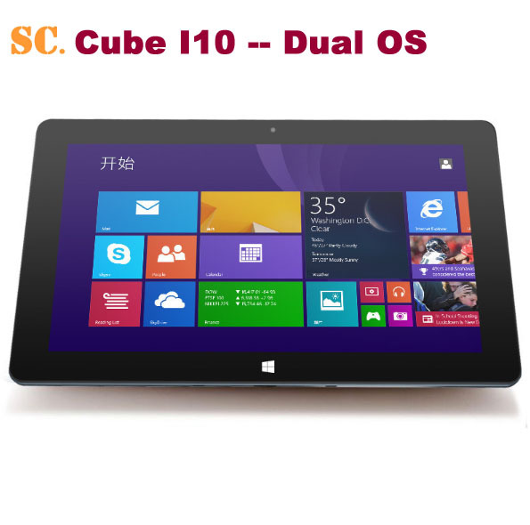 """10.6"""" 1366*768 Cube I10 Dual Boot Tablet PC Windows10 ..."""