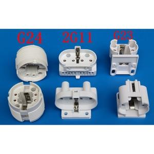 Image 2 - 10pcs/lot G23 Lamp Holder G23 Lamp Socket G23 Energy Saving Table Lamp Base Lighting Accessories