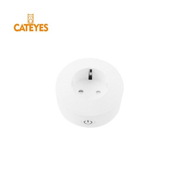 Envío Gratis Mini wifi enchufe inteligente enchufe UE con monitor de alimentación ahorro de energía 10A compatible con google home Alexa No HUB